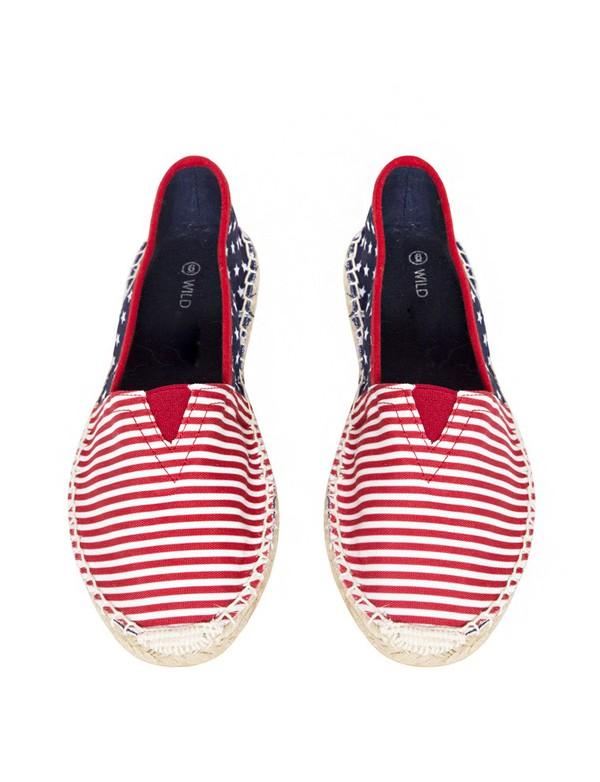 shoes cute shoes striped shoes espadrilles affordable clothes pixie market