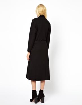 Just Female | Just Female Maxi Coat at ASOS