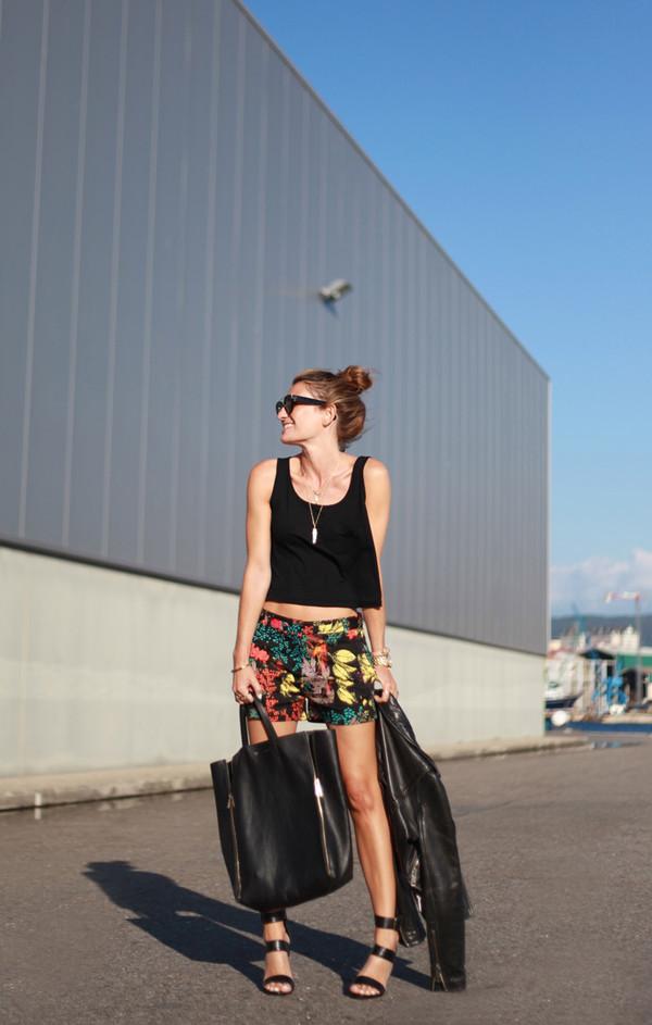 b a r t a b a c top shoes bag sunglasses jacket