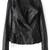 ROMWE | Romwe Zippered Pleated Faux Leather Black Jacket, The Latest Street Fashion