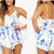 2014 Free shipping  Stylish abstract print V neck lavender lace playsuit  Jumpsuits . TB 6242-in Jumpsuits & Rompers from Apparel & Accessories on Aliexpress.com