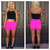 Hot Pink Electra Shorts                           | Dainty Hooligan Boutique