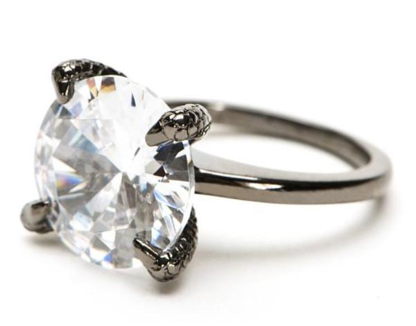 Crystal Talon Ring | Leviticus Jewelry