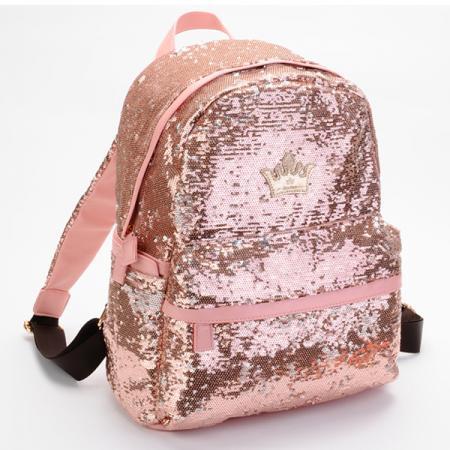 Sequins Bling Bling Crown Backpack Women Ladies Girls Leisure School Pink 6-in Backpacks from Luggage & Bags on Aliexpress.com