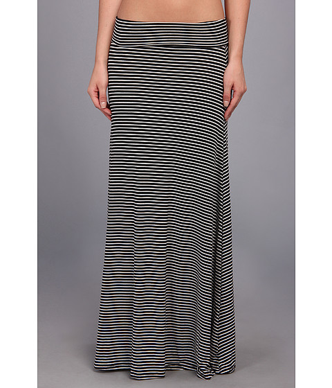 Culture Phit Clare Stripe Maxi Skirt White/Black - Zappos.com Free Shipping BOTH Ways