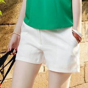 (5 size) 2012 summer women new ultra crisp white shorts cheap plus size XXL white shorts 3030-in Shorts from Apparel & Accessories on Aliexpress.com