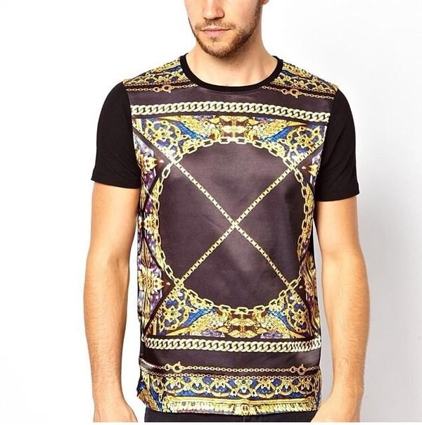 t-shirt ledder swag asap