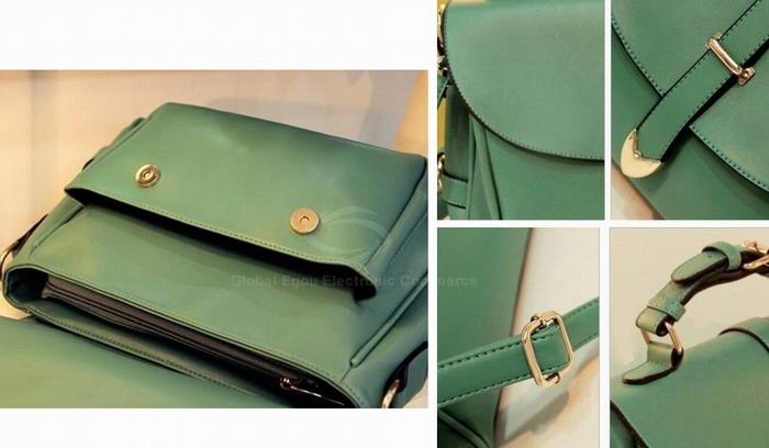 Wholesale Laconic Fashion Women's Cross-Body Bag With Solid Color Belts Buckles Design (APRICOT), Shoulder Bags - Rosewholesale.com