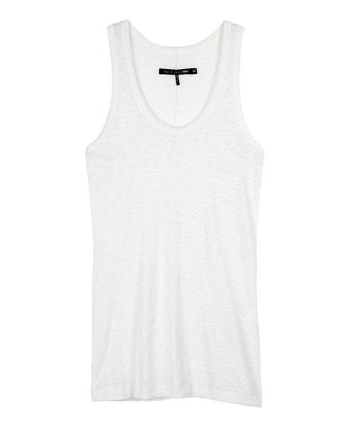 Classic Beater Tank - Bright White | rag & bone Official Store