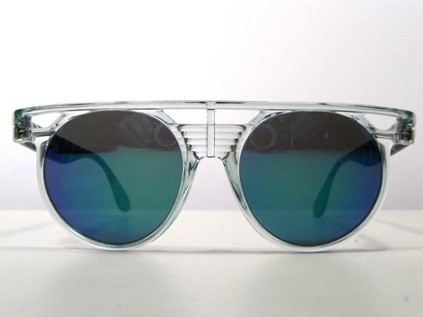 sunglasses clear blue lens vintage amazing 90s style