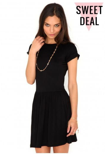 Aliveta Value T-Shirt Skater Dress - dresses - missguided