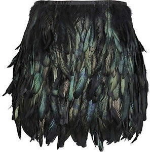 urbanchicoutlet                  - Feather Skirt