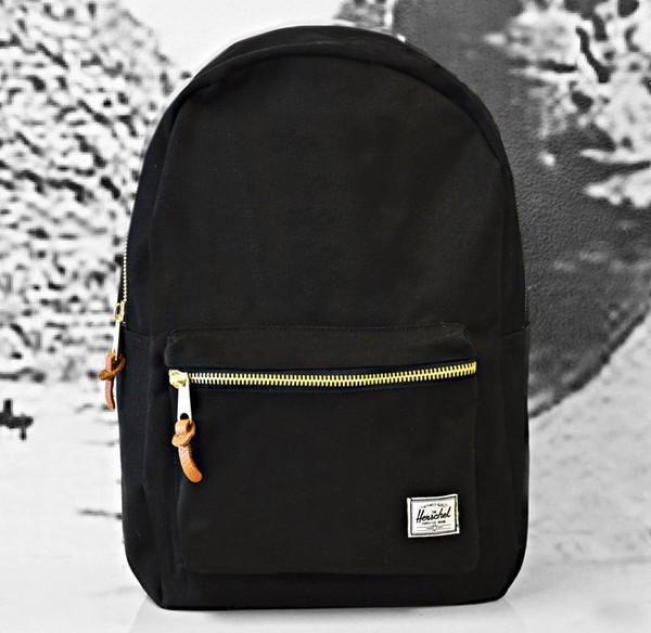 bag this bag black gold zipper