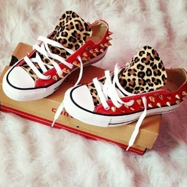 Cheetah Chucks – Dopest Co
