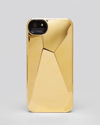 MARC BY MARC JACOBS iPhone 5/5s Case - Metallic Faceted | Bloomingdale's