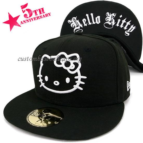 Order Over 59$ Free Shipping Best Discount Price New Era Cap Hello Kitty Old English Blk/White