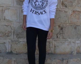 Popular items for versace sweatshirt on Etsy