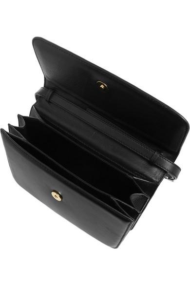 M2Malletier|La Fleur Du Mal leather clutch|NET-A-PORTER.COM
