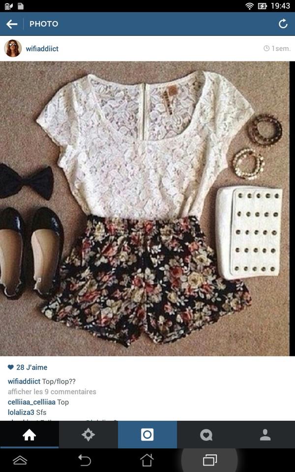 jewels bijoux shoes blouse skirt bag