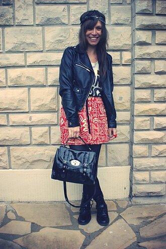 skirt yummy yo aztec red skirt