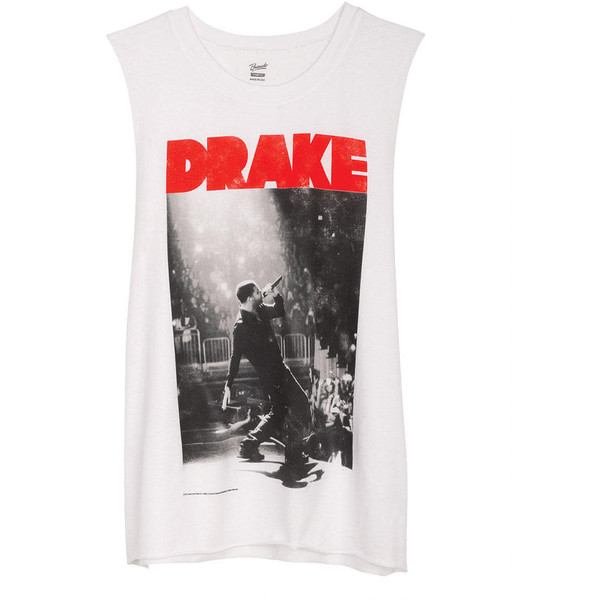 Drake On Stage Muscle Tank - Polyvore