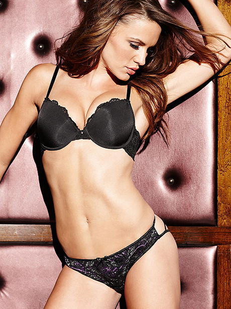 Cage Back Naughty Knicker Panty, Cage Back Naughty Knicker Panty Bottom - Fredericks of Hollywood