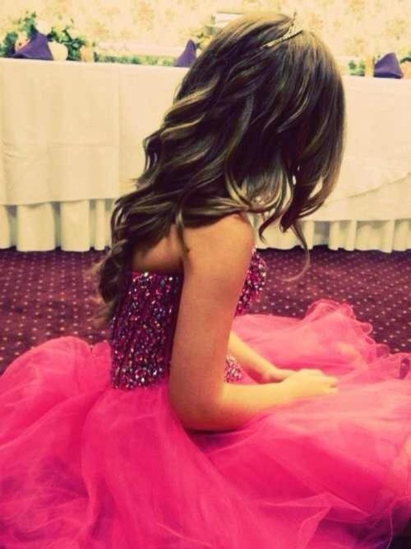 dress pink and purple prom cute dress sparkly dress