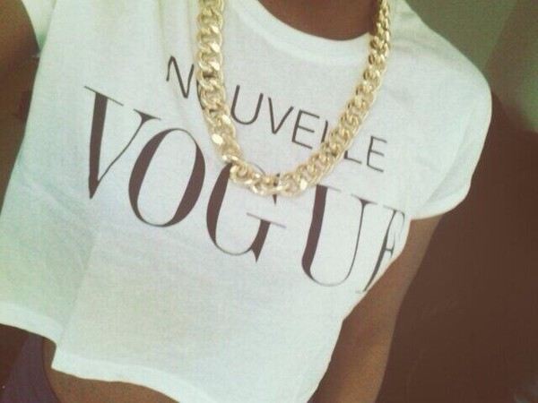 tank top vogue crop tops white tank top trill jewels