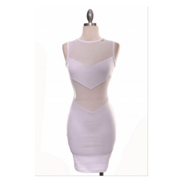 dress lace clothes mesh bodycon