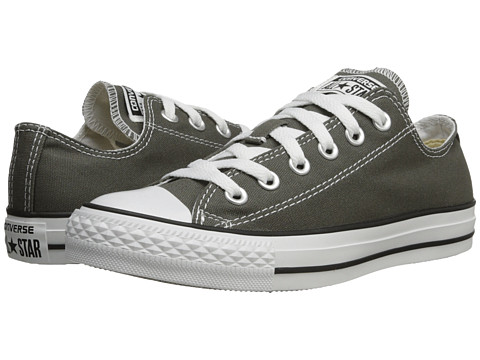 Converse Chuck Taylor® All Star® Core Ox Charcoal - Zappos.com Free Shipping BOTH Ways