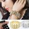 Vintage antique punk rock gothic women spike stud rivet stretch bracelet bangle | ebay