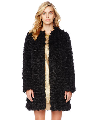 MICHAEL Michael Kors  Faux-Fur Coat - Michael Kors