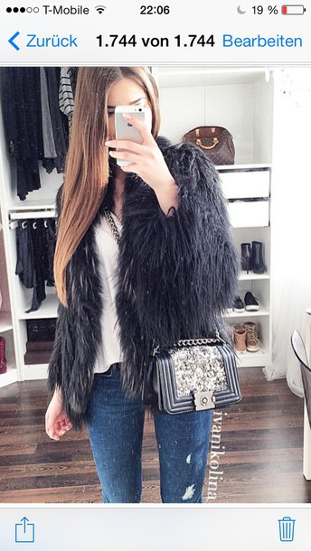 bag purse style chanel inspired