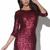 Red Sequin Dress - Sequin Dress | UsTrendy