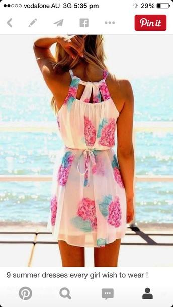dress summer dress colorful dress