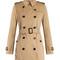 Kensington mid-length gabardine trench coat