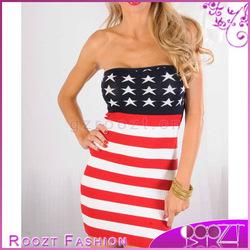 2013 Summer American Flag Sweater Knit Tube Body Hugging Mini Dress Woman Dress Rd0452 - Buy Woman Dress,Sexy Mini Dress,Tight Mini Dress Product on Alibaba.com