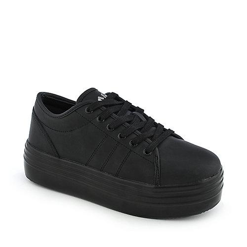 Buy Cute to the Core Womens Blyke Low Black Platform Shoes | Shiekh Shoes