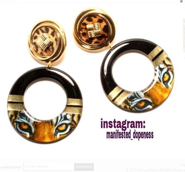 jewels gold jewelry earrings doorknocker