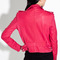 Ashville leather jacket in fuschia by iro at tags
