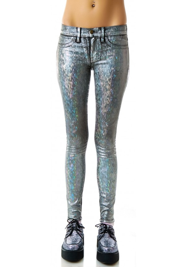 Wildfox Couture Wind Chimes Marianne Skinny Jeans | Dolls Kill