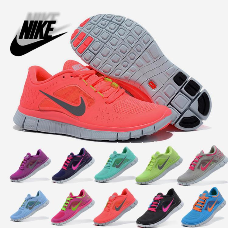 2014 Free shippinig Nike free 5.0 running women sports shoes Running Shoes size:36 40-in Running Shoes from Sports & Entertainment on Aliexpress.com
