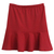 ROMWE | Elastic Flouncing Red Skirt, The Latest Street Fashion