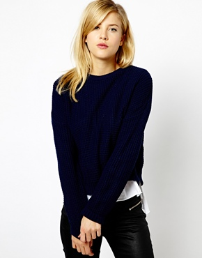 A Wear | A Wear Boxy Crop Sweater at ASOS