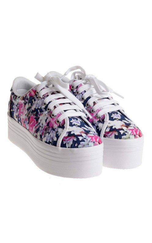 Scarpa sneakers stampa floreale Zomg  JEFFREY CAMPBELL