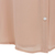 Pink Contrast Hollow Lapel Bead Chiffon Blouse - Sheinside.com