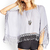 Crochet Fringed Poncho Top | FOREVER21 - 2000120918