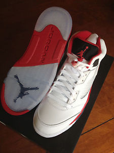 Jordan 5 Fire Red 2013 | eBay