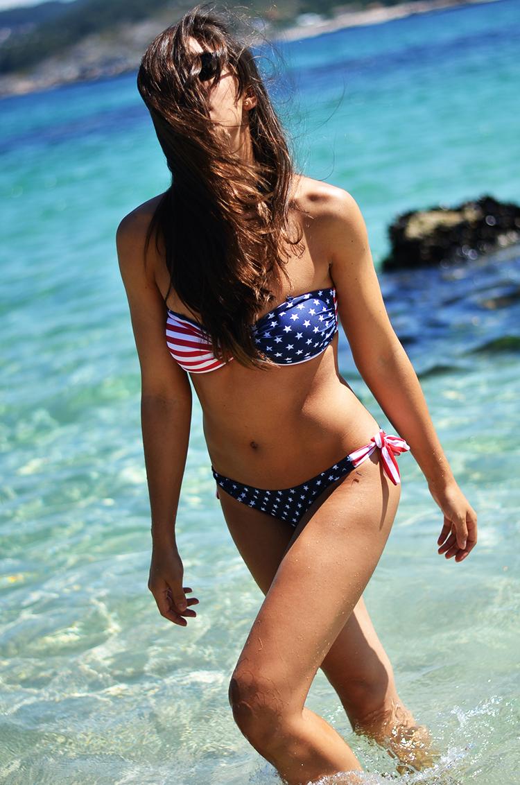 New Look Flag Pattern Bikini | Choies