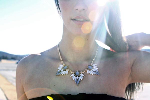 jewels statement necklace aztec